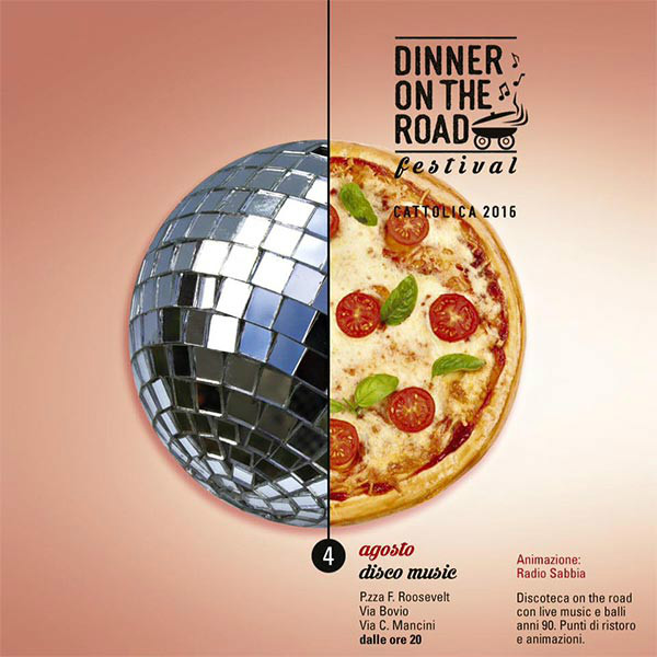 Balli anni '90 con il Dinner on the Road - Disco Music!